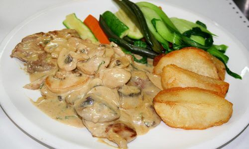 Veal Funghi
